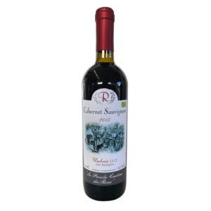Vino rosso naturale biologico Cabernet Sauvignon 2015
