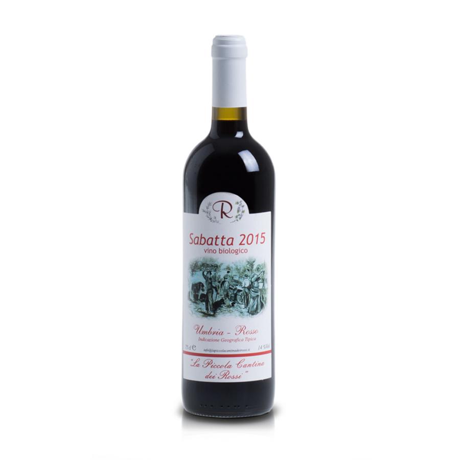 Sabatta – Rosso Umbria IGT: Nuovo – Cabernet Sauvignon, Merlot, Sangiovese e Montepulciano d'Abruzzo