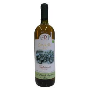 Grechetto 2017: Umbria IGT da uve di Grechetto di Todi (bianco) in purezza.