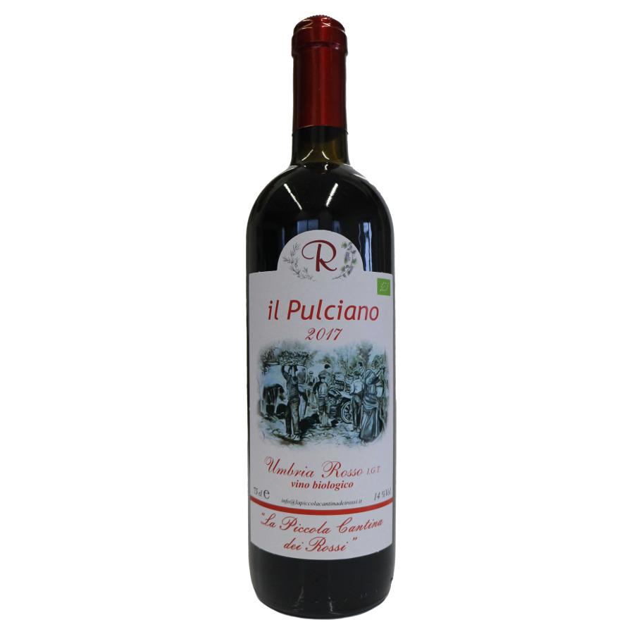Il Pulciano 2017: Rosso Umbria IGT da uve di Montepulciano d'Abruzzo in purezza.