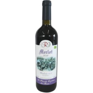 Merlot 2016: Umbria IGT da uve di Merlot (rosso) in purezza.