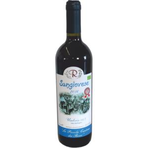 Sangiovese 2016 Vino Biologico Naturale Umbria IGT da uve di Sangiovese in purezza