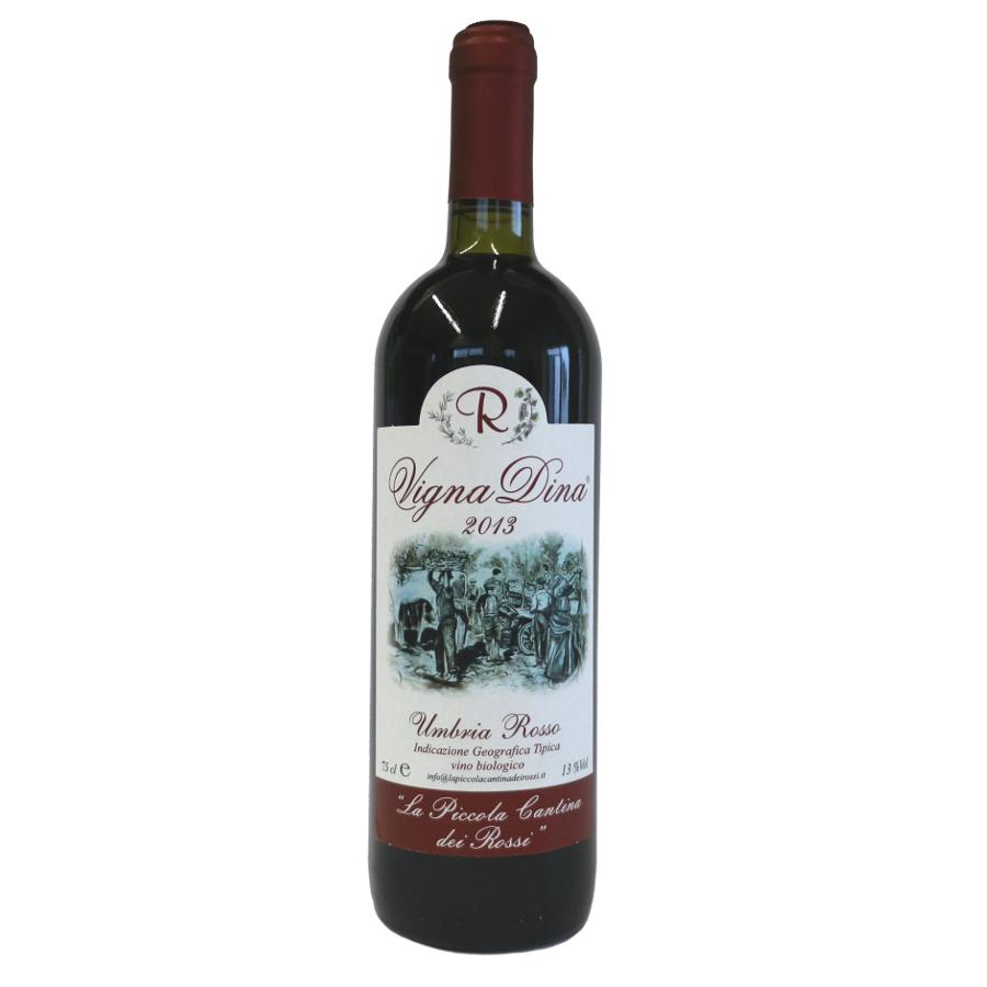 Vigna Dina 2013: da uve Merlot e Cabernet Sauvignon (rosso).