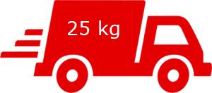 Spedizione massima 25 Kg, (4 bag in box) Emergenza Covid-19
