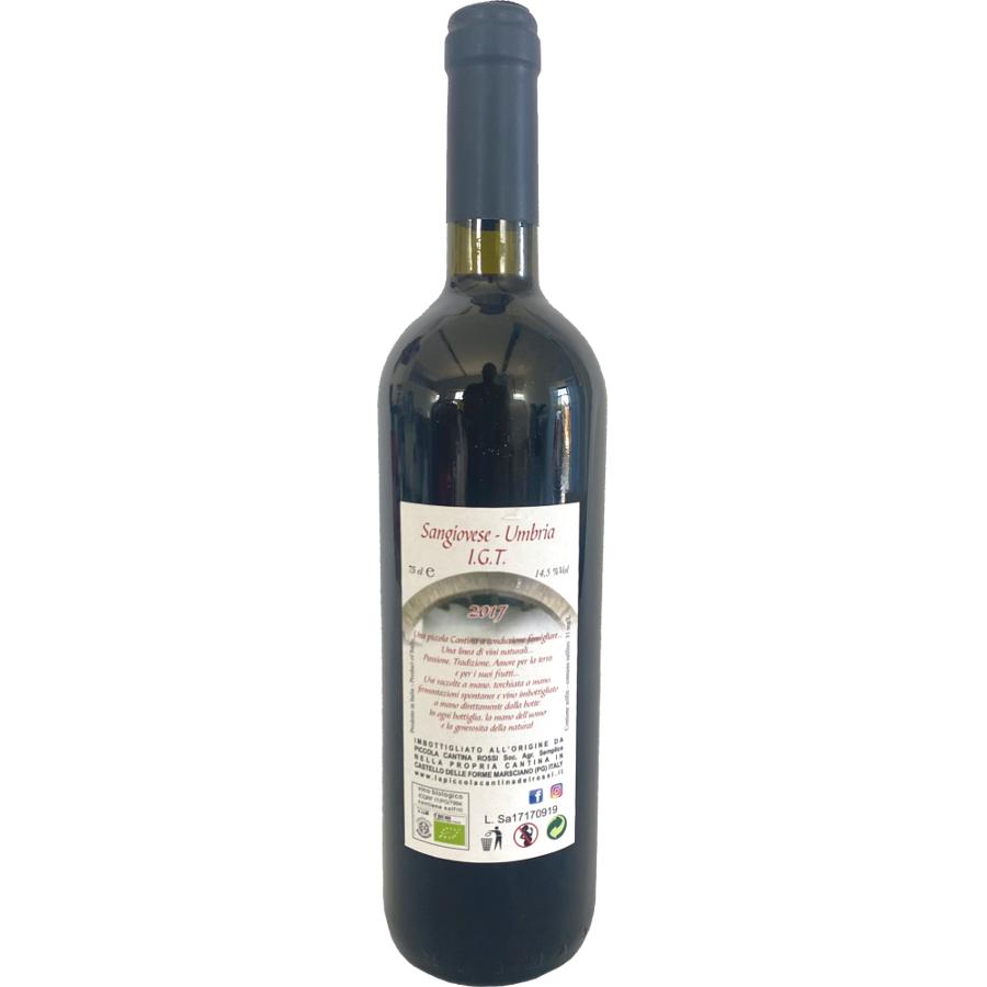 Sangiovese 2017: Umbria IGT da uve di Sangiovese  in purezza.