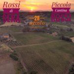 Panoramica della Piccola Cantina Rossi dove si svolgerà l'evento Rossi di Sera il 28 agosto 2021